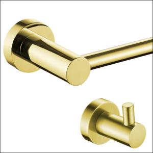 סדרת ROUND זהב מט