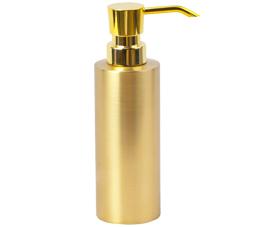 דיספנסר לסבון נוזלי דגם GOLDY מונח זהב מט