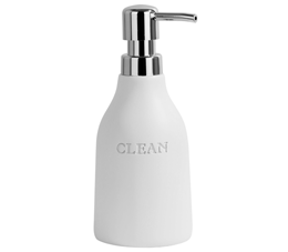 דיספנסר מונח לסבון נוזלי דגם CITY לבן