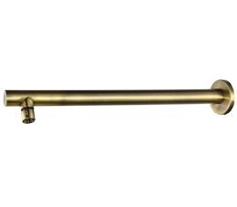 זרוע עגולה כבדה 40 ס״מ לראש טוש למקלחת ברונזה BRASS