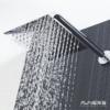 זרוע עגולה 30 ס״מ | 38 ס״מ לראש מקלחת ניקל מבריק BRASS