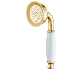 מזלף למקלחת יוקרתי מעוצב רטרו טלפון זהב