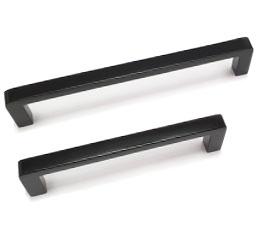 ידיות לארונות במידות ארוכות דגם 9000 שחור מט