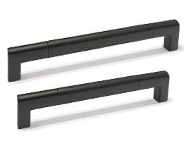 ידיות למטבח במידות ארוכות דגם R-9020 שחור מט