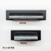 ידיות קונכיה דגם 9083 שחור עתיק במידות 64 מ״מ, 96 מ״מ