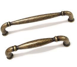 ידיות לארון מטבח דגם 7033 במידות פליז עתיק