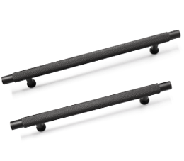 ידיות למטבח במידות ארוכות דגם R-9093 שחור מט