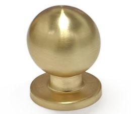 ידית כפתור עגול לארון מטבח דגם K-9091 זהב מט