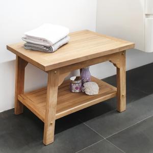 ספסלי עץ לאמבטיה