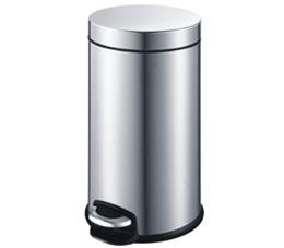 פח אשפה עגול למטבח 30 ליטר קלאסי מוברש טריקה שקטה