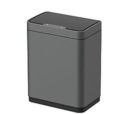 פח אשפה למטבח 20 ליטר JAVA  אלקטרוני מלבני גרפיט