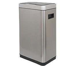 פח אשפה למטבח 30 ליטר JAVA אלקטרוני מלבני מוברש