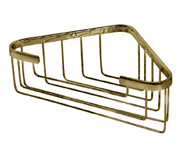 מדף רשת למקלחת פינתית גבוהה BRONZE ברונזה - SL275-BR