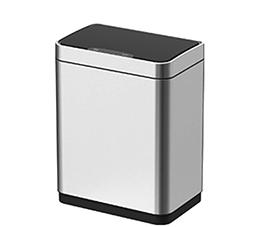 פח אשפה למטבח 20 ליטר JAVA  אלקטרוני מלבני מוברש