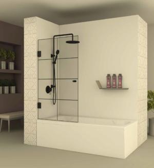 אמבטיון חזית BLACK104 - אמבטיון חזיתי בעל דלת הנפתחת פנימה והחוצה