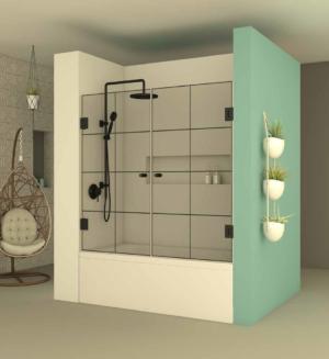 אמבטיון חזית BLACK105 - אמבטיון חזיתי בעל שתי דלתות הנפתחות פנימה והחוצה