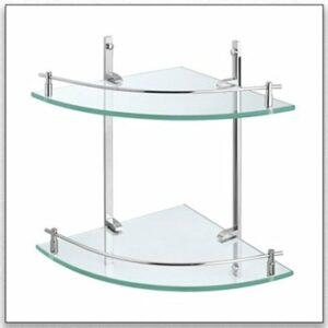 מדפי זכוכית לאמבטיה