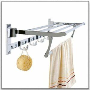 מדפי מגבות לאמבטיה