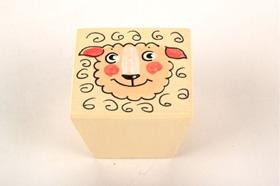 כפתור כבשה שמנת