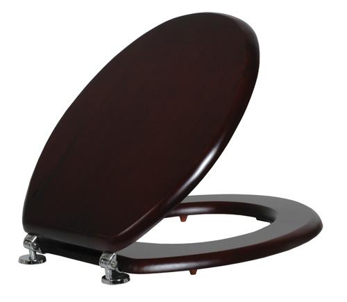 מושב אסלה שחור