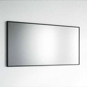מראה מסגרת שחורה